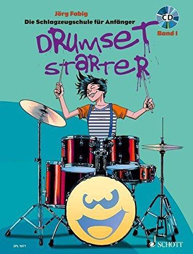 Drumset Starter: Die Schlagzeugschule für Anfänger. Band 1. Schlagzeug / Drumset. Lehrbuch mit CD. (Schott Pro Line) by Jörg Fabig (2011-04-04)