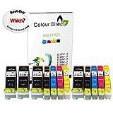 Colour Direct - 2 Ensembles + 2 Noir - Compatible 33XL Encre Cartouches Remplacement...