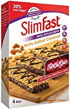 SlimFast Meal Replacement Bar Nutty Salted Caramel High Protein 4X Box of 4 Total 16 Bars Estimated Price : £ 29,99