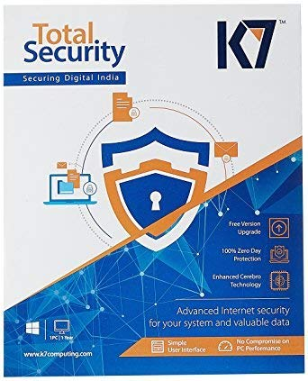 K7 Total Security – 1 PC, 3 Year (CD)