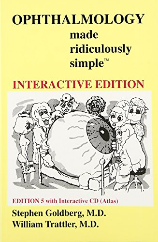 Compare Textbook Prices for Ophthalmology Made Ridiculously Simple 5 Edition ISBN 9781935660064 by Stephen Goldberg,William Trattler