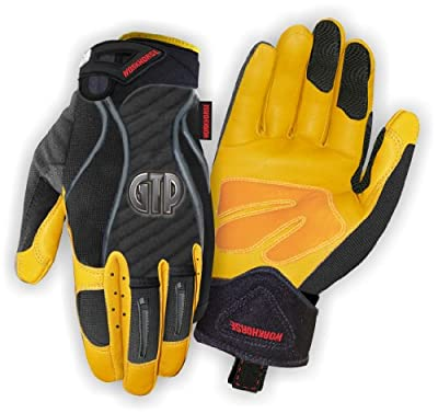 McCordick Glove and Safety Workhorse GTP Glove with Goatskin Leather and PVC Grip Palm