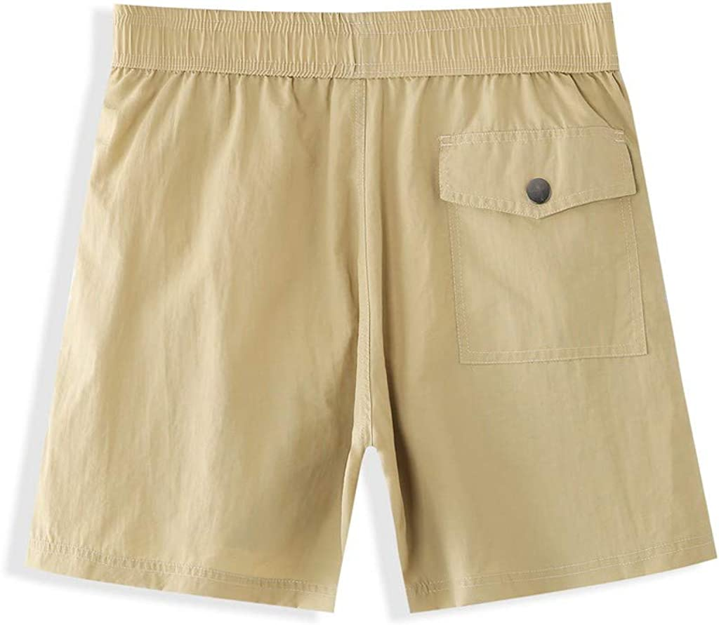 Landscap Men's Swim Trunks Hiking Shorts Lightweight Quick Dry Workout Gym Running Shorts Beach Shorts