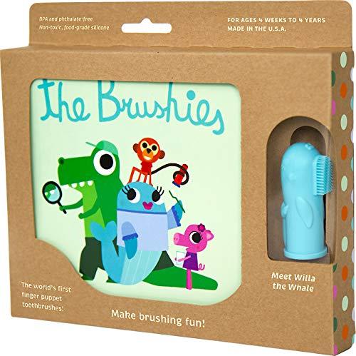 The Brushies Coffret cadeau brosse à dents pour bébé et enfant