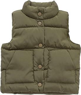 a70f7e2f1 LaoZanA Sin Mangas Abrigo Chaquetas Niños Niñas Otoño Invierno Caliente  Chaleco