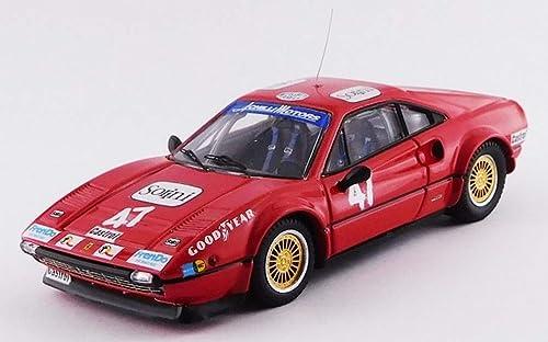 descuento de ventas en línea Best- Ferrari 308 308 308 GTB Gr.4-Ci Vallelunga 1978-Carlo Facetti R.R. Modelo de Color rojo, BEST9746  Entrega gratuita y rápida disponible.