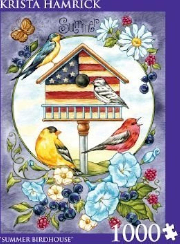Andrews + Blaine 1000 Pcs 'Summer Birdhouse' By Krista Hamrick by Andrews + Blaine
