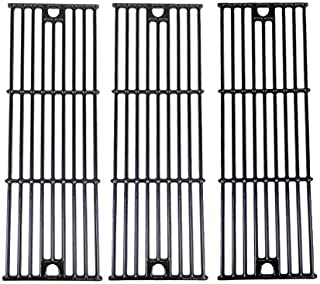 Grill Parts Gallery Porcelain Cast Iron Cooking Grid for Home Depot 1224, 1329, 1334, 2121, 2123, 2137 & Lowes 5050 Models, Set of 3