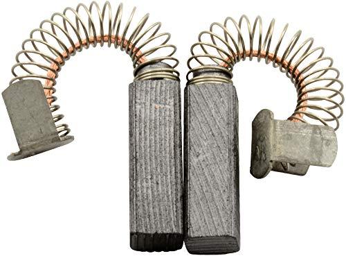 Escobillas de Carbón para LEGNA L0182 lijadora - 5x5x15mm - 2.0x2.0x5.9\'\'