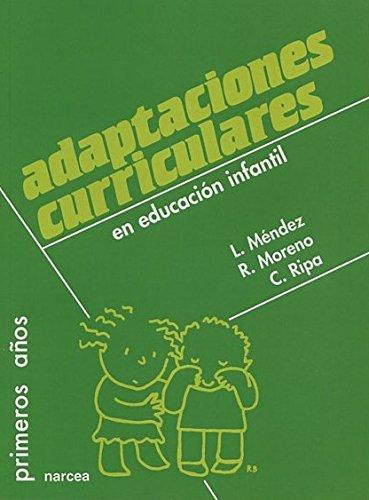 Adaptaciones curriculares en Educación Infantil: 41 (Primeros Años)