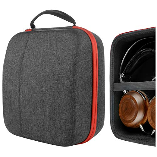 Geekria UltraShell Headphone Case for Sony MDR-Z1R, MDR-Z7M2, DENONs AH-D9200, AH-D5200, Fostex TH-500RP, TH900, TH909, Pioneer SE-DIR800C, A1000 Headphones, Large Hard Shell Travel Carrying Bag