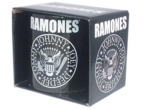The Ramones–Rock Band Taza regalo–Logo–Toll se presenta en una caja de regalo