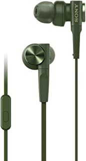 Sony MDR-XB55AP EXTRA BASS In-Ear Headphones, Green, 92477514