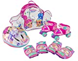 Shimmer and Shine Set con Mochila, Mini Roller, Casco y Protecciones (Saica 2680)
