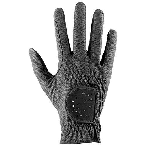 Uvex Unisex– Erwachsene Sportstyle Diamond Reithandschuhe, Black, 7