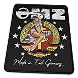 Mz - Motorcycle Logo Zschopau DDR Vintage Logo Pullover Hoodie Electronic Sports Office Gaming Learning Rubber Non-Slip Mouse Pad Mouse Pad Mouse Mat for Computer Desk Laptop Office
