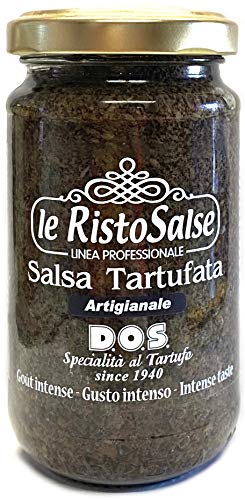 Salsa Tartufata 190g - Salsa pronta al Tartufo - Utilizzata nei ristoranti e da cuochi...