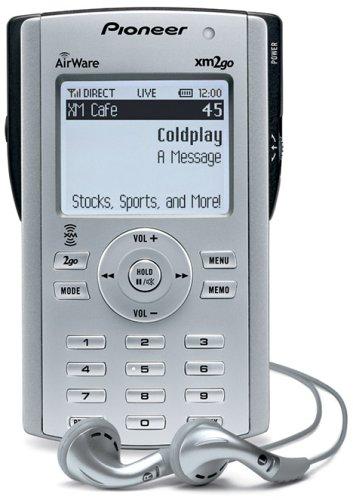 PIONEER AirWare XM2Go Portable XM Satellite Radio Receiver