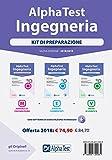 Alpha Test. Ingegneria. Kit di preparazione. Manuale di preparazione-Esercizi commentati-P...