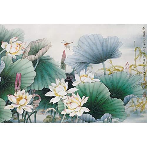 Lfixhssf Houten Puzzel, Chinese schilderijen, Inktschilderijen, Poëzie Volwassen Decompressie Geen Partitie Puzzel Lfixhssf D