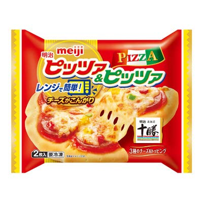 明治『明治レンジピッツァ&ピッツァ2枚入』