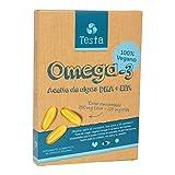 Testa Omega-3 Aceite de Algas cápsulas de 450mg Omega-3 Veg