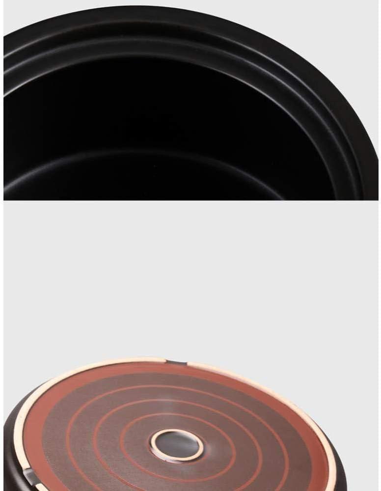 LIUSHI Casserole en Terre Cuite Casserole en céramique Pot en Terre Cuite - La Combustion sèche ne Se Fissure Pas est sûre et Durable résistance et santé capacité 3,5 l Capacity6l