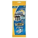 Bic Razors Flex 3 Triple Blade Shaver 4 Packungen