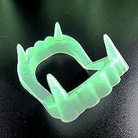 1 /2ピースハロウィーンパーティーのための新しいおもちゃの吸血鬼の歯のための歯舞踏会コスプレの化粧の面白い義歯 (Color : C 1PCS1)