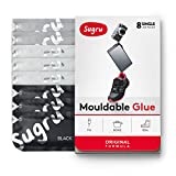Sugru i000430 moldeable pegamento ? Fórmula Original, color negro, blanco, gris cartucho (8-Pack), multicolor