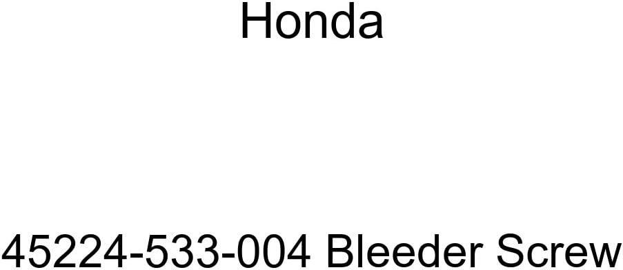 Genuine Honda 45224-533-004 Many Surprise price popular brands Bleeder Screw