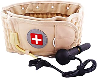 Decompression Back Belt Lumbar Traction Device for Lower Back Pain, Lower Back Brace for Men Women, One Size for 29-49 Waist