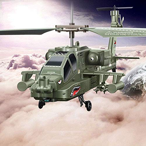 S109G IMITACIÓN Military Fighter Jet Drop Resistant con giroscopio RC Control Remoto Helicóptero Drone Apache Aircraft Toy Children S Toy Regalo Excellent