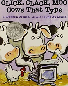 Paperback Click, Clack, Moo, Cows That Type Book