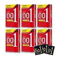 【6箱】オカモトゼロワン0.01ミリLサイズ 3個入りx6箱(4547691775122-6)