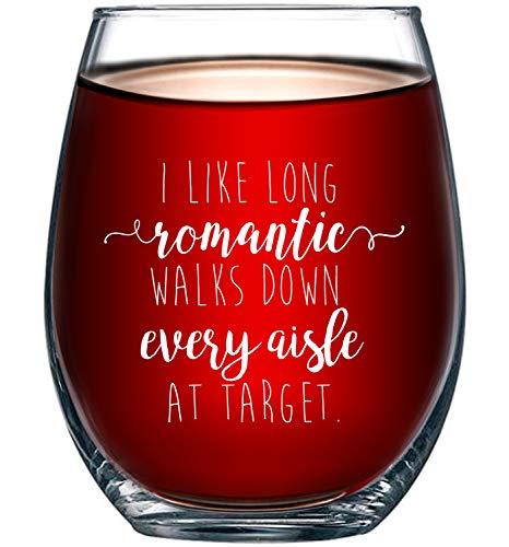 I Like Long Romantic Walks at Target