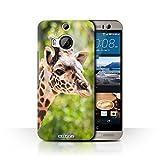 Stuff4 Coque de Coque pour HTC One M9+/Plus/Girafe Design/Animaux Sauvages Collection