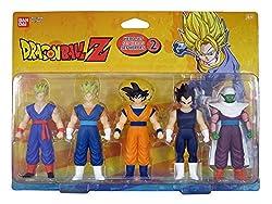 Set di Eroi 5personaggi Tutti Gli Eroi di Dragon Ball Z 12cm di altezza