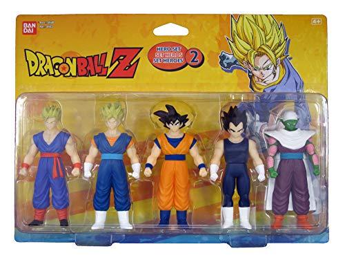 Le pack de 5 figurines pour fan de Dragon Ball Z