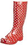 Playshoes Damen Gummistiefel , Rot (rot 8) , 40 EU