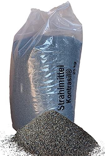 25 kg Strahlmittel Sandstrahlen Sandstrahlmittel Strahlgut (1,0-2,0 mm)