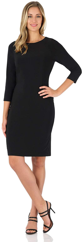 Rekucci Women's Classic Chic Shift Dress