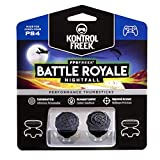 KontrolFreek FPS Freek Battle Royale Nightfall for PlayStation 4 (PS4) Controller | Performance Thumbsticks | 2 High-Rise Convex Black