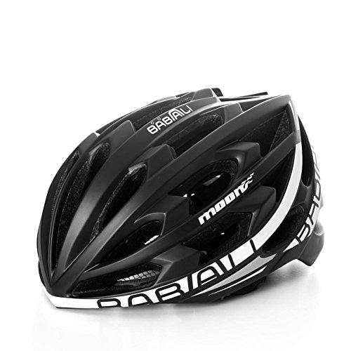 Lmzyan Casco inalámbrico de Bicicleta de música Bluetooth Casco de Carretera/Mountain Bike...
