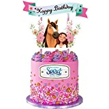 Free Horse Cake Topper Theme Birthday Party Supplies Favors Toppers Decorations...