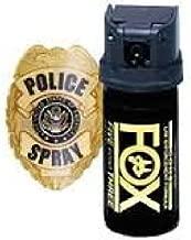 Fox Labs, 5.3 SHU Pepper Spray - Flip Top Cone (1.5 ounce)