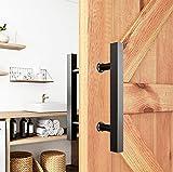 Barn Door Pull Handle, 12' Square H-Shape...
