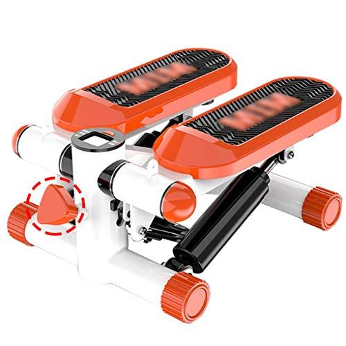 Stepper Heimstepper Leise Kleine SportgeräTe Multifunktions-OfenrohrgeräTe In-Situ-Bergsteiger-FußMaschine Tragen Von 120 Kg (Color : Orange, Size : 43 * 30 * 20cm)