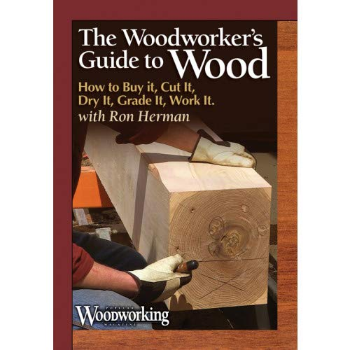 The Woodworker's Guide to Wood: How to Buy It, Cut It, Dry It, Grade It, Work It