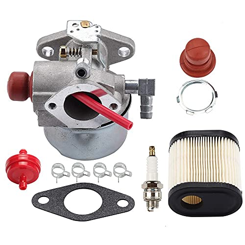 640350 640271 640303 Carburetor for Tecumseh LEV100 LEV105 LEV120 LV195EA LV195XA Toro 20016 20017 20018 6.75HP Recycler Lawn Mower Lawn with Air Filter